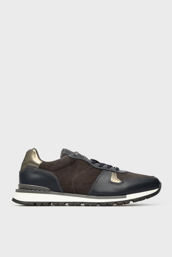 Мужские темно-серые кроссовки