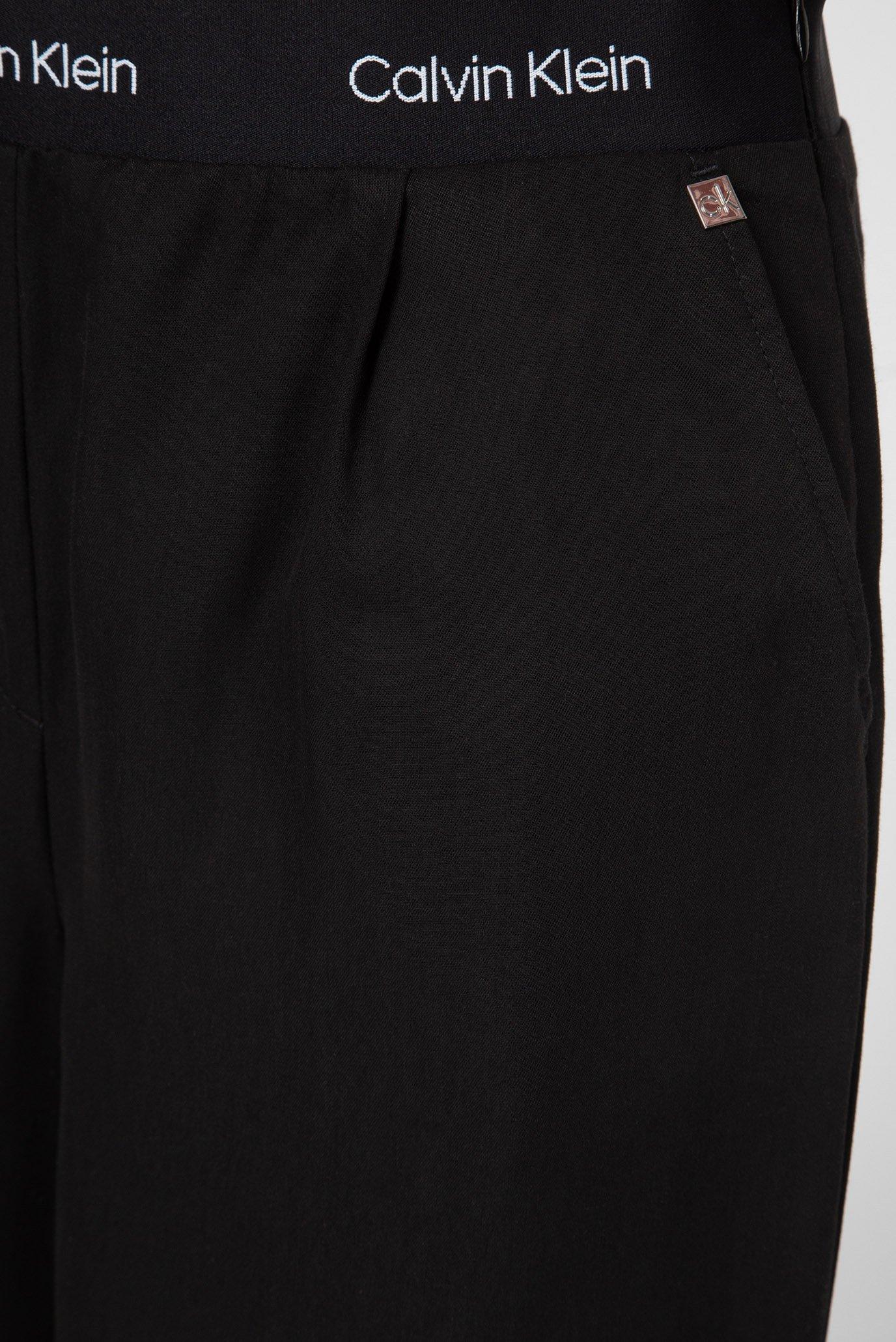 Женские черные кюлоты Calvin Klein