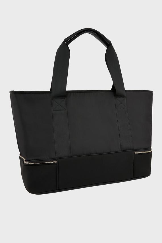 Женская черная сумка ALICE NYLON WEEKENDE