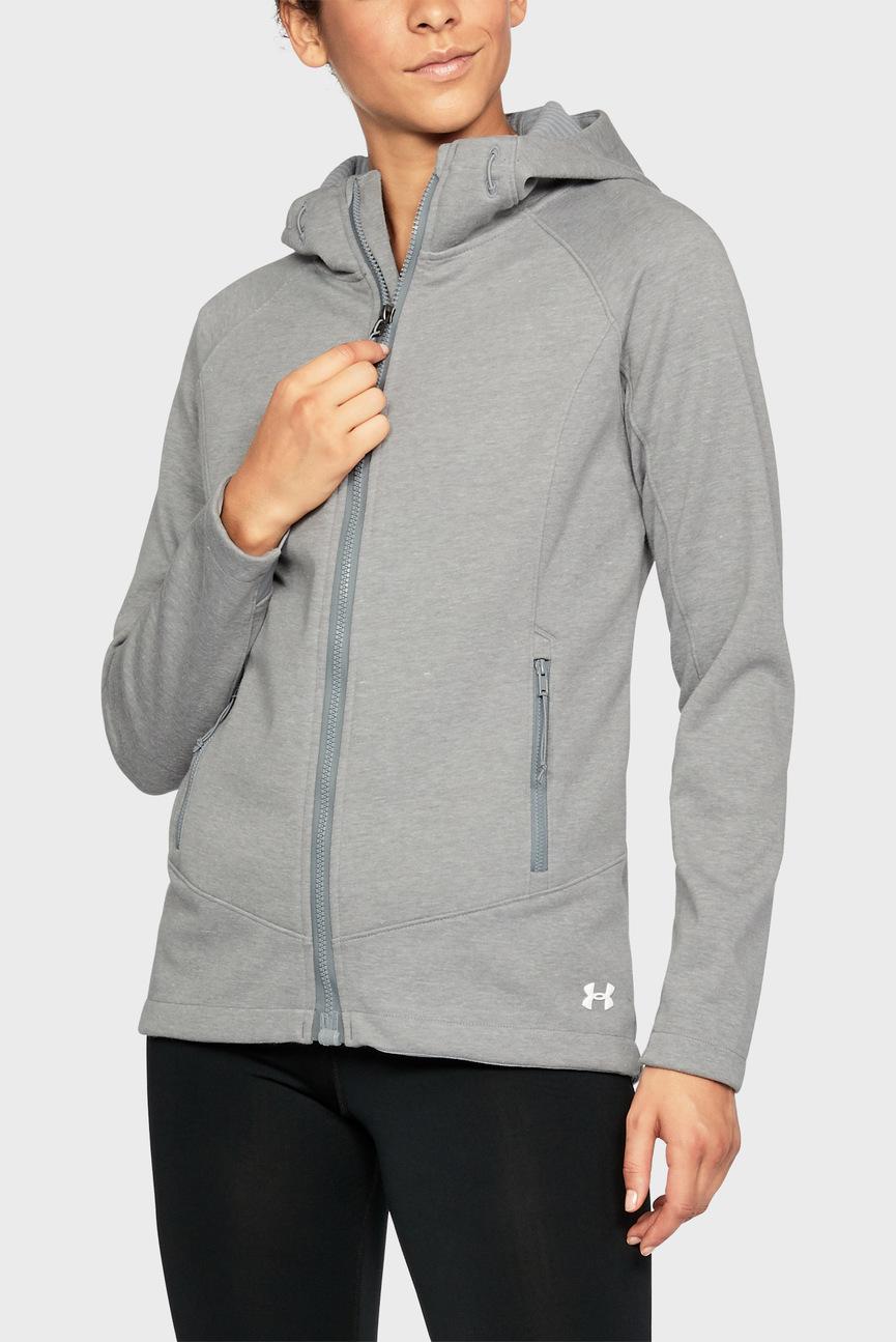 Женская серая куртка UA CGI Dobson Softshell