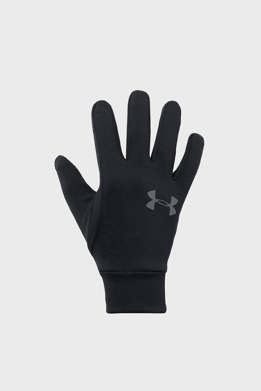 Мужские черные перчатки Men's Armour Liner 2.0