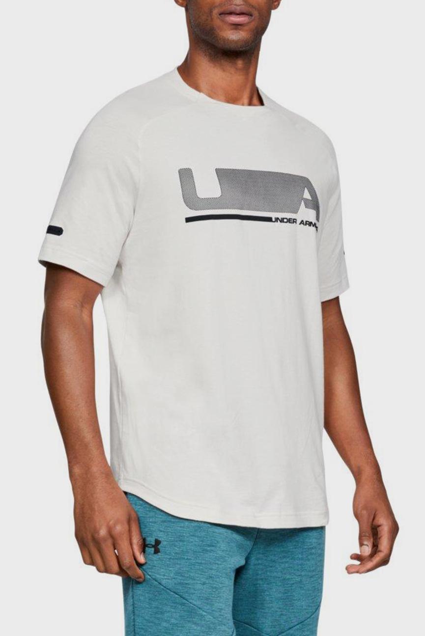 Мужская белая футболка UNSTOPPABLE MOVE SS T