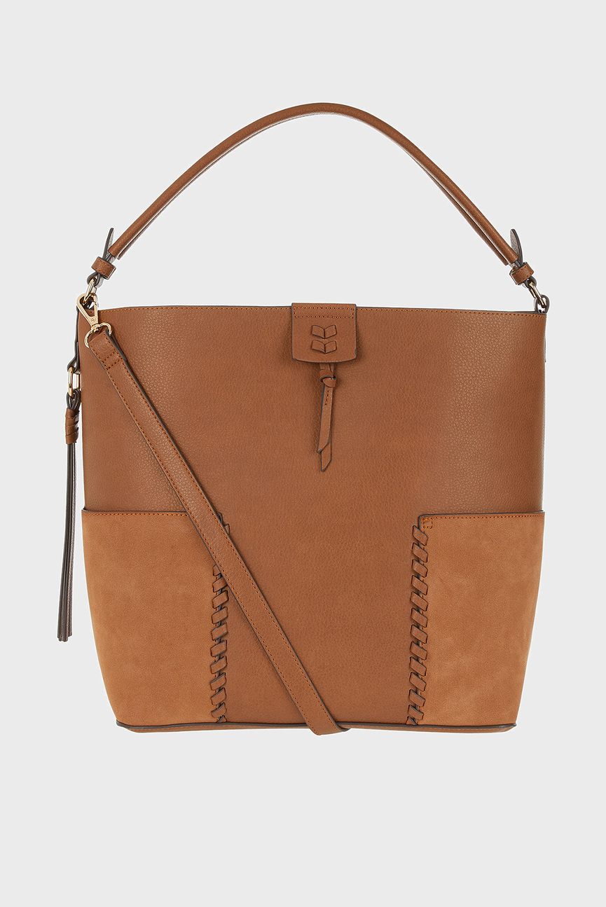Женская коричневая сумка WINNIE SHOULDER
