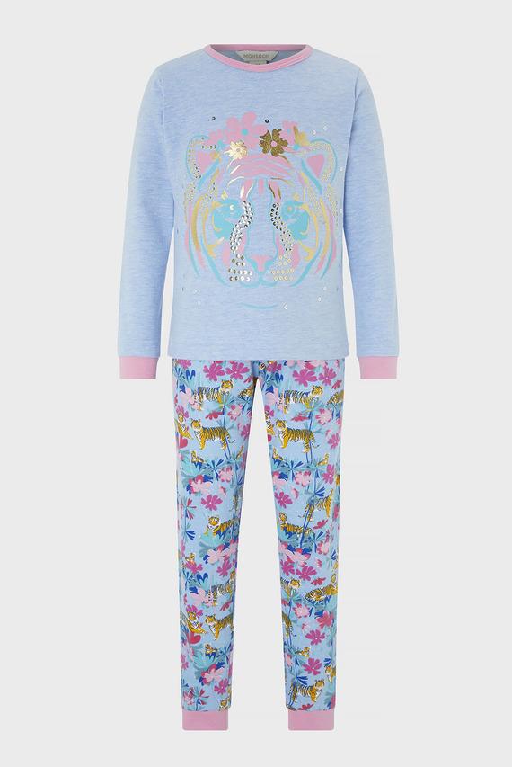 Детская пижама (лонгслив, брюки) TESSA TIGER JERSEY P