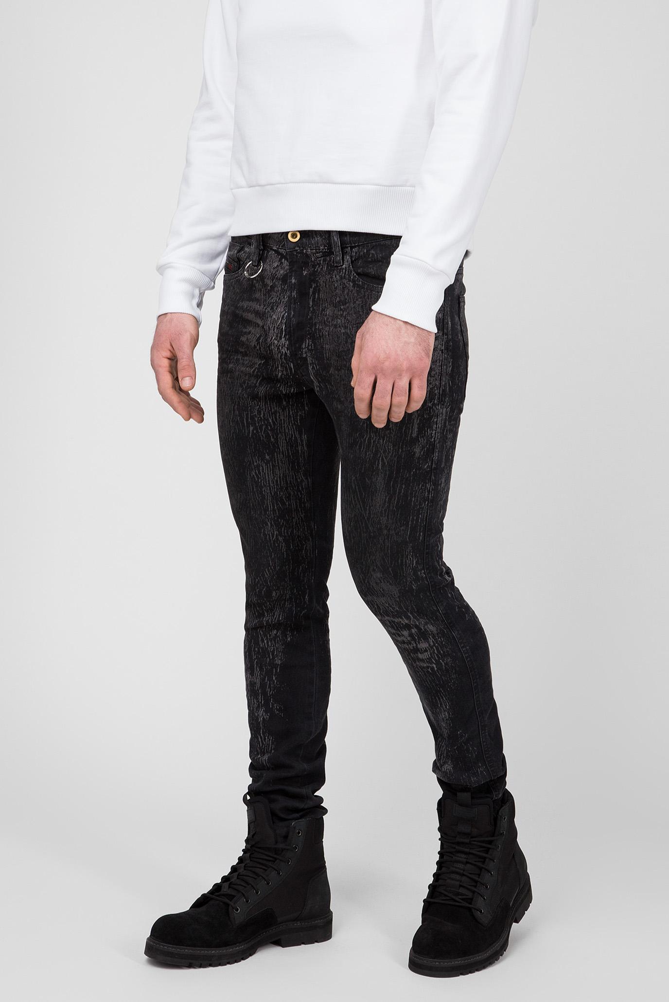 Купить Мужские черные джинсы D-ISTORT Diesel Diesel 00SMZS 069DE – Киев, Украина. Цены в интернет магазине MD Fashion