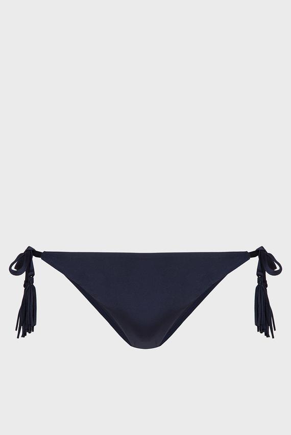Женские темно-синие трусики от купальника