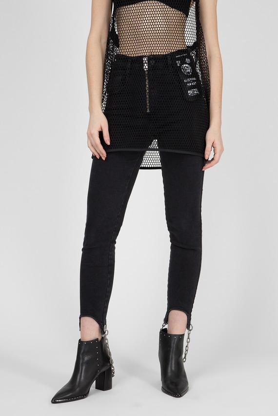 Женские черные джинсы SLANDY-HIGH-G