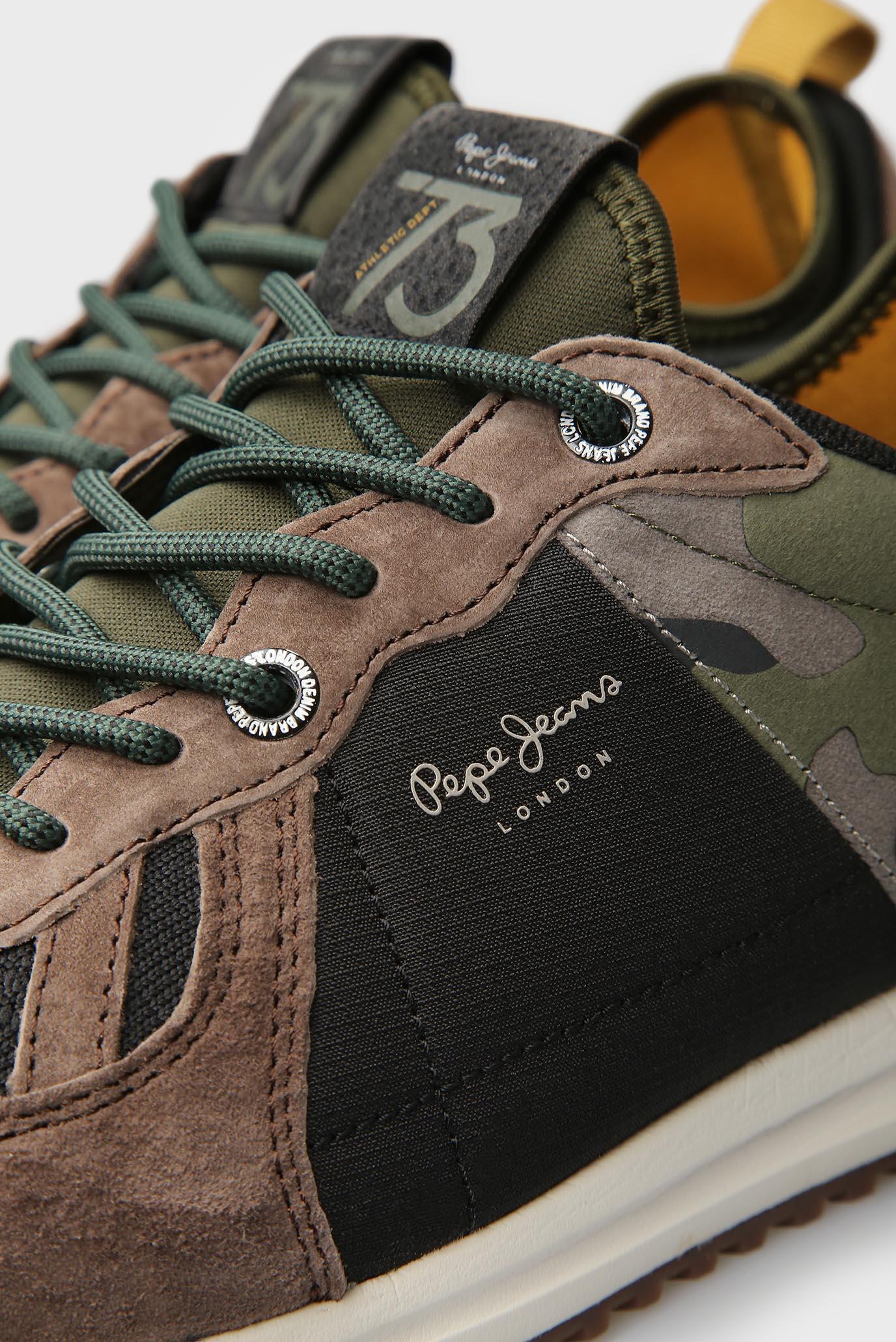 Купить Мужские коричневые замшевые кроссовки Pepe Jeans Pepe Jeans PMS30488 – Киев, Украина. Цены в интернет магазине MD Fashion