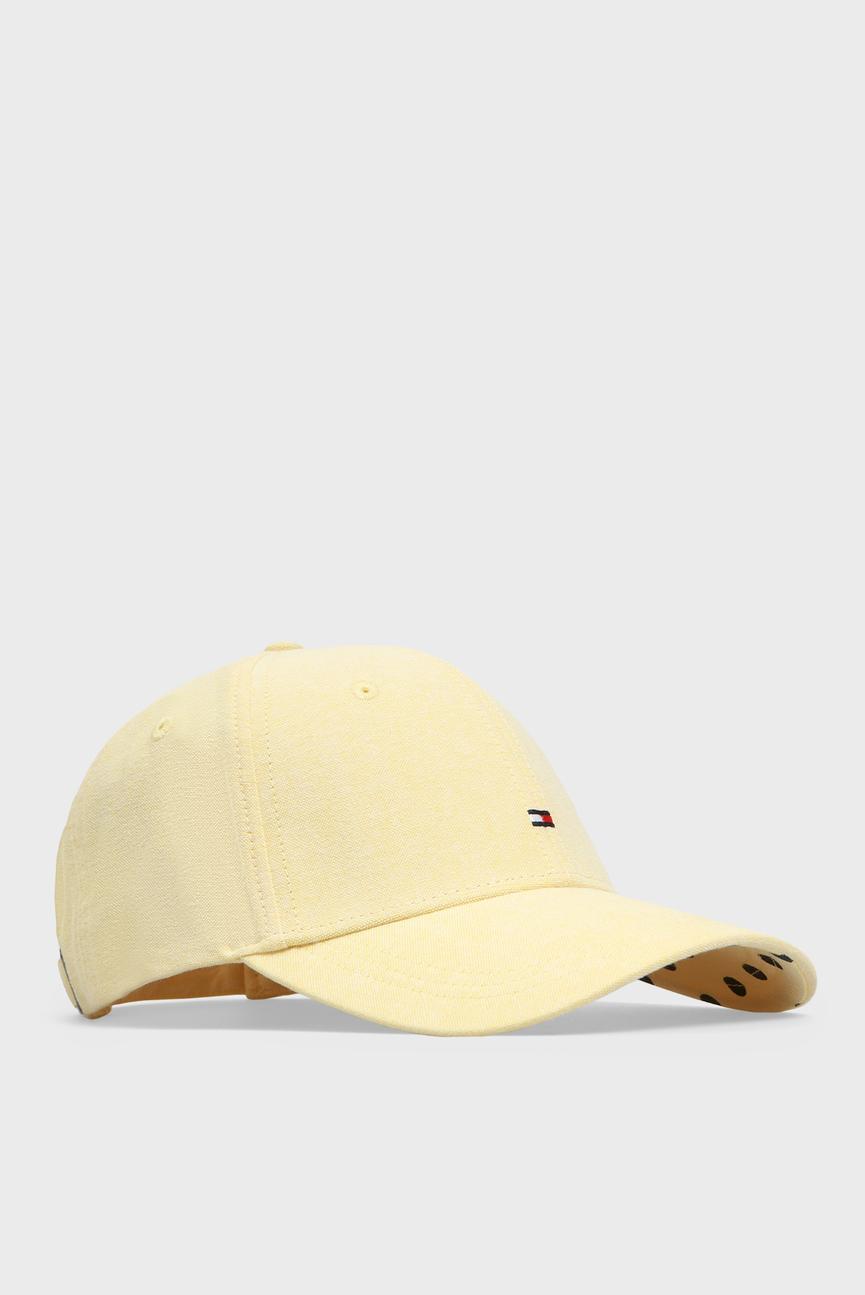 Женская желтая кепка BB CHAMBRAY