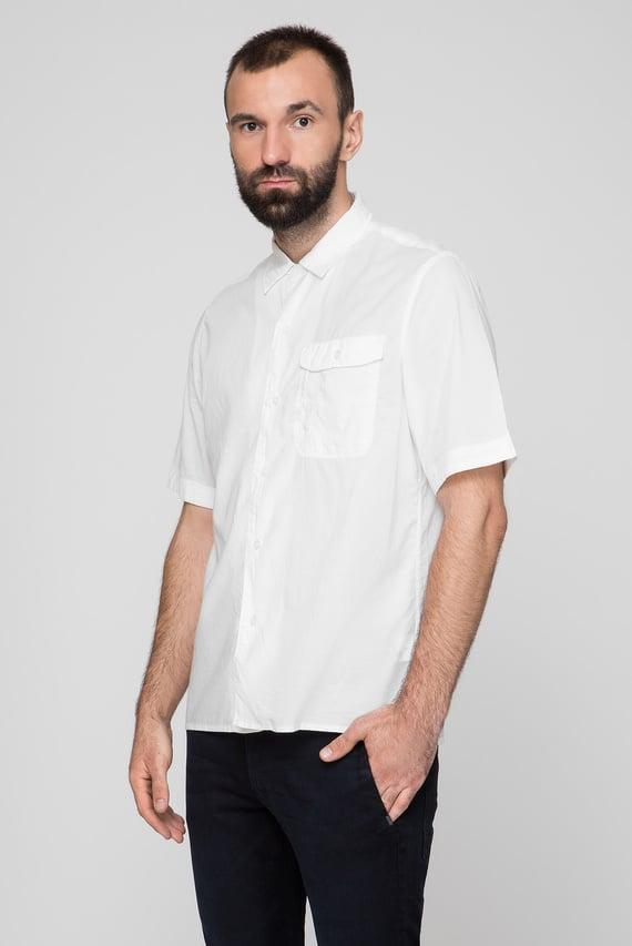 Мужская белая рубашка XPO straight service shirt