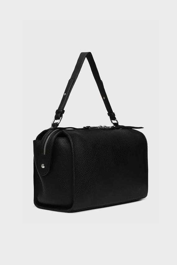 Женская черная сумка на плечо ALYSSA