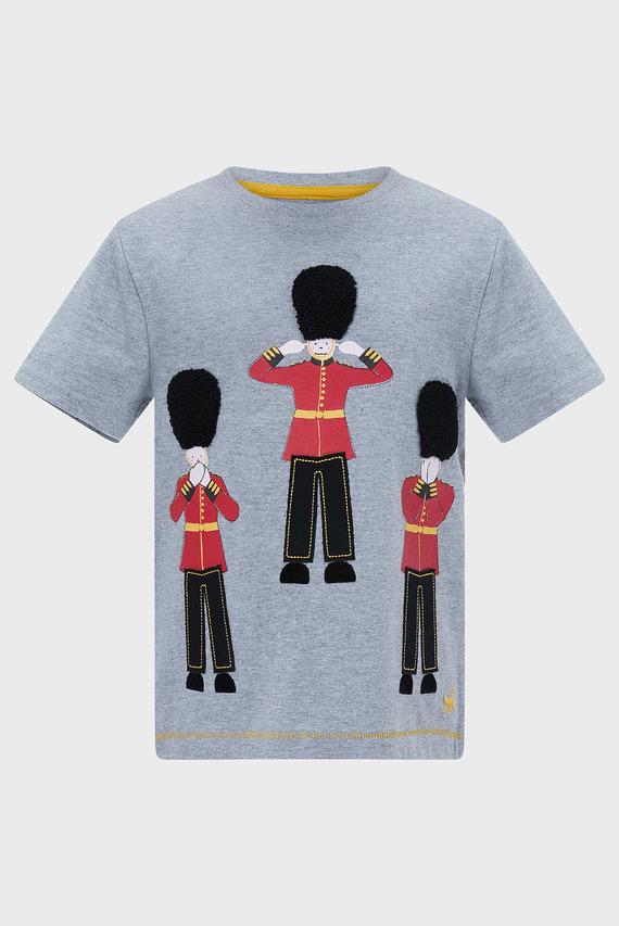 Детская серая футболка