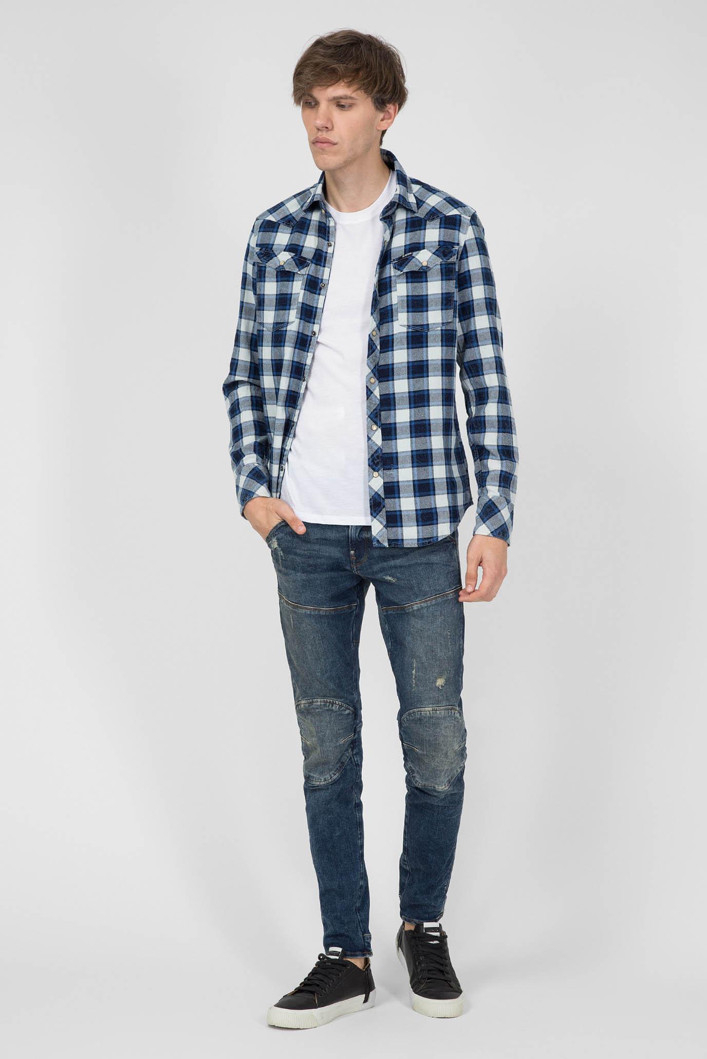 Купить Мужские синие джинсы 5620 3D Skinny G-Star RAW G-Star RAW 51026,8968 – Киев, Украина. Цены в интернет магазине MD Fashion