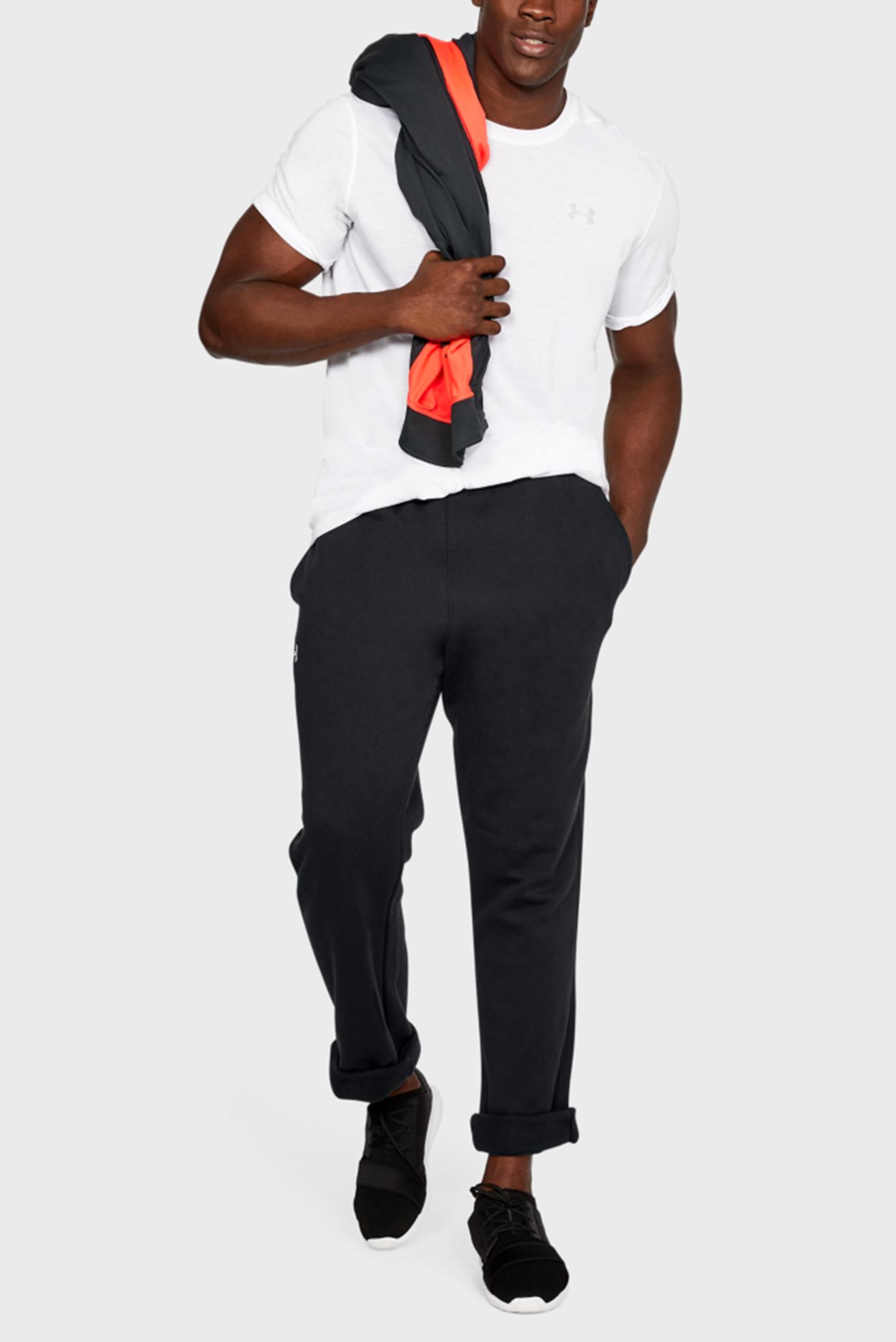 Купить Мужские спортивные брюки UA M's Hustle Fleece Pant Under Armour Under Armour 1300124-001 – Киев, Украина. Цены в интернет магазине MD Fashion