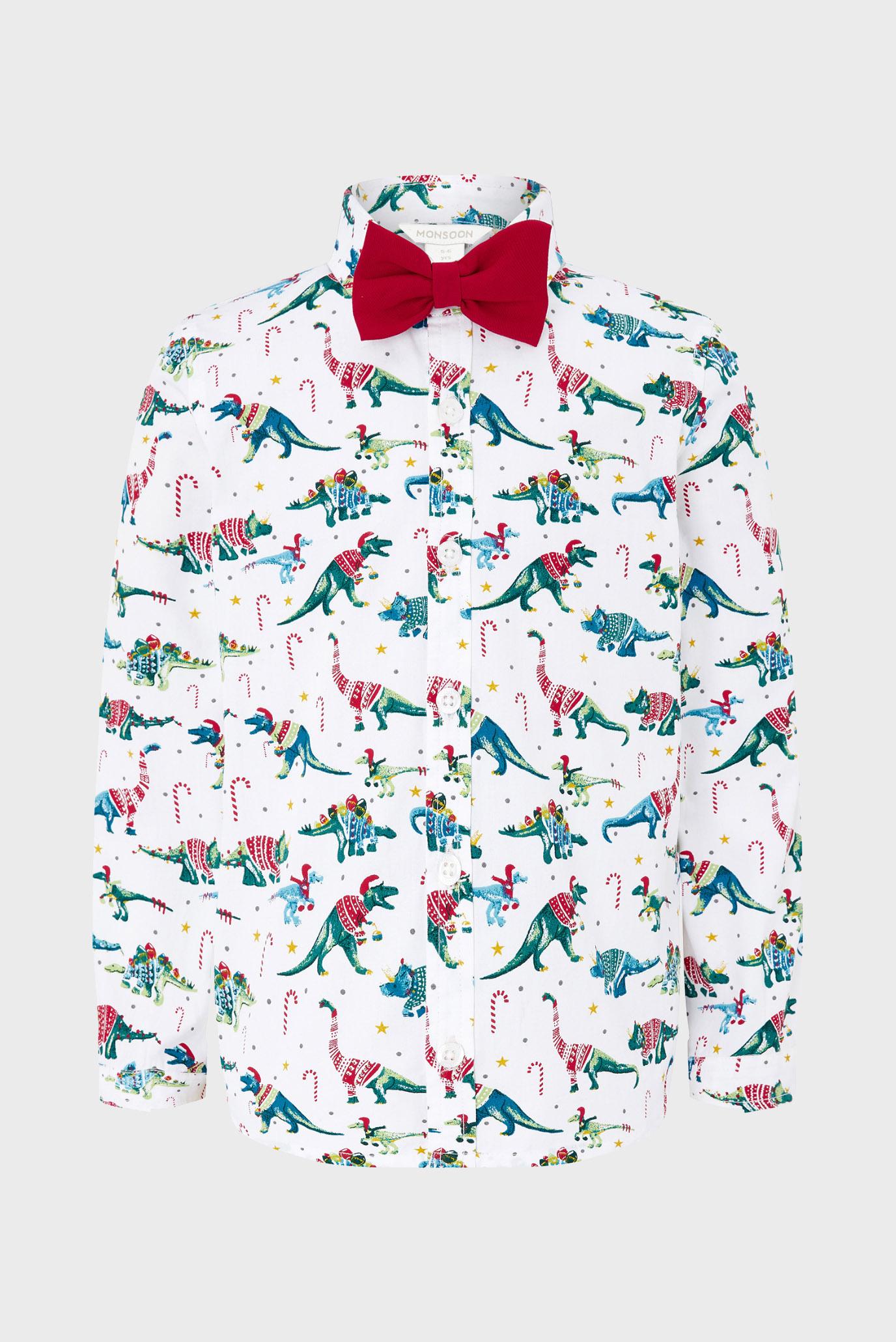 Дитяча сорочка з принтом CHRISTMAS SHIRT 1