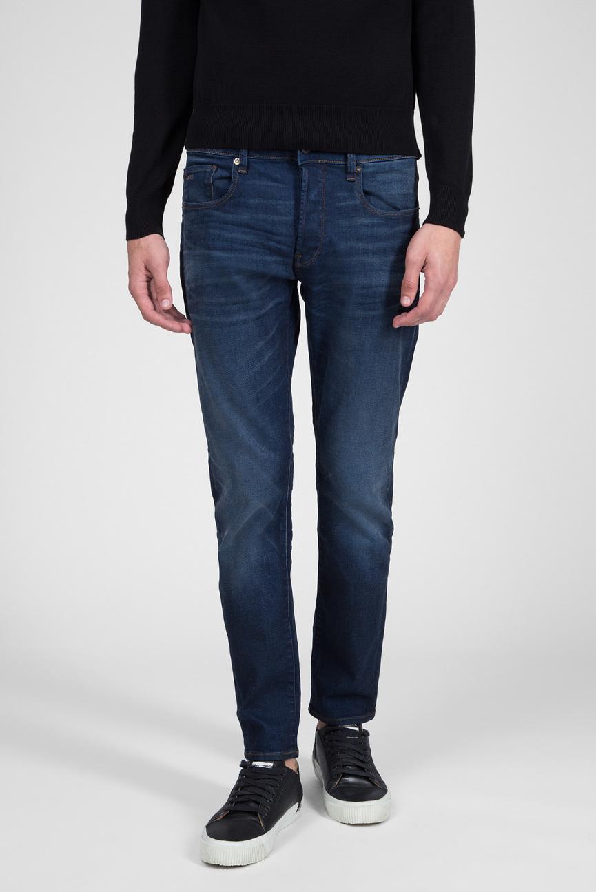 Мужские темно-синие джинсы 3301 Slim