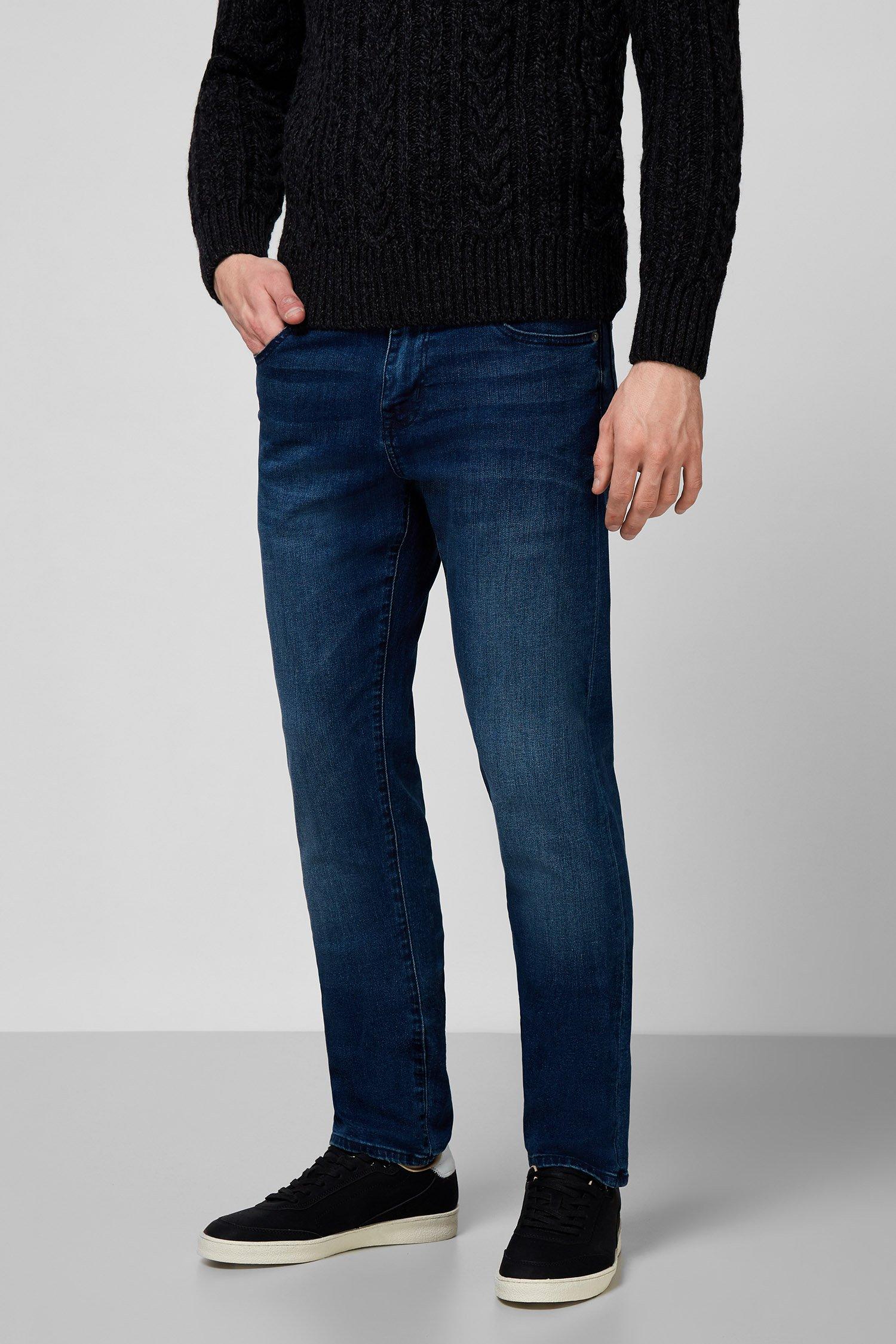 Мужские синие джинсы SuperDry M7010115A;3ZK — MD-Fashion
