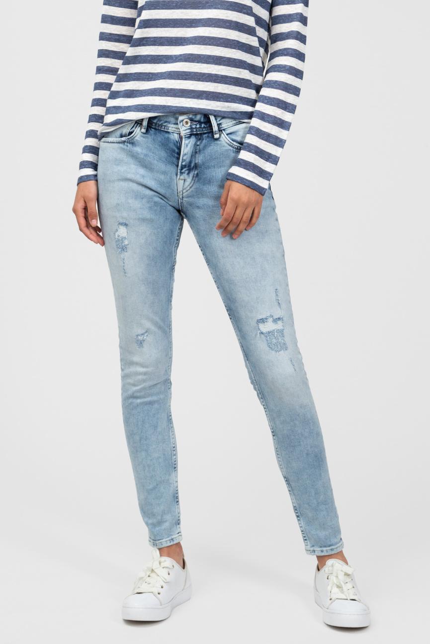Женские голубые джинсы JOEY