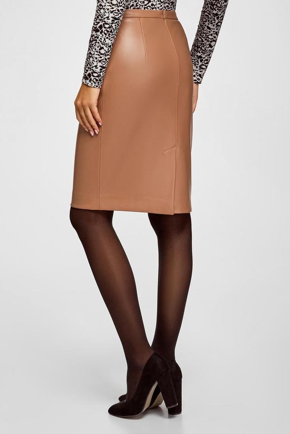Женская бежевая юбка