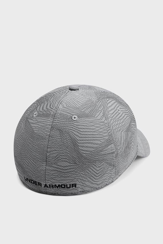 Мужская серая кепка UA Printed Blitzing 3.0