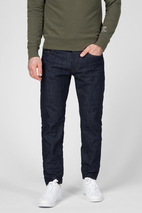 Мужские темно-синие джинсы Loic Relaxed Tapered