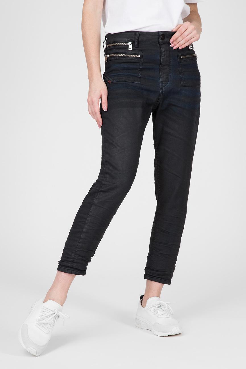 Женские темно-синие джинсы D-EIFAULT-NЕ