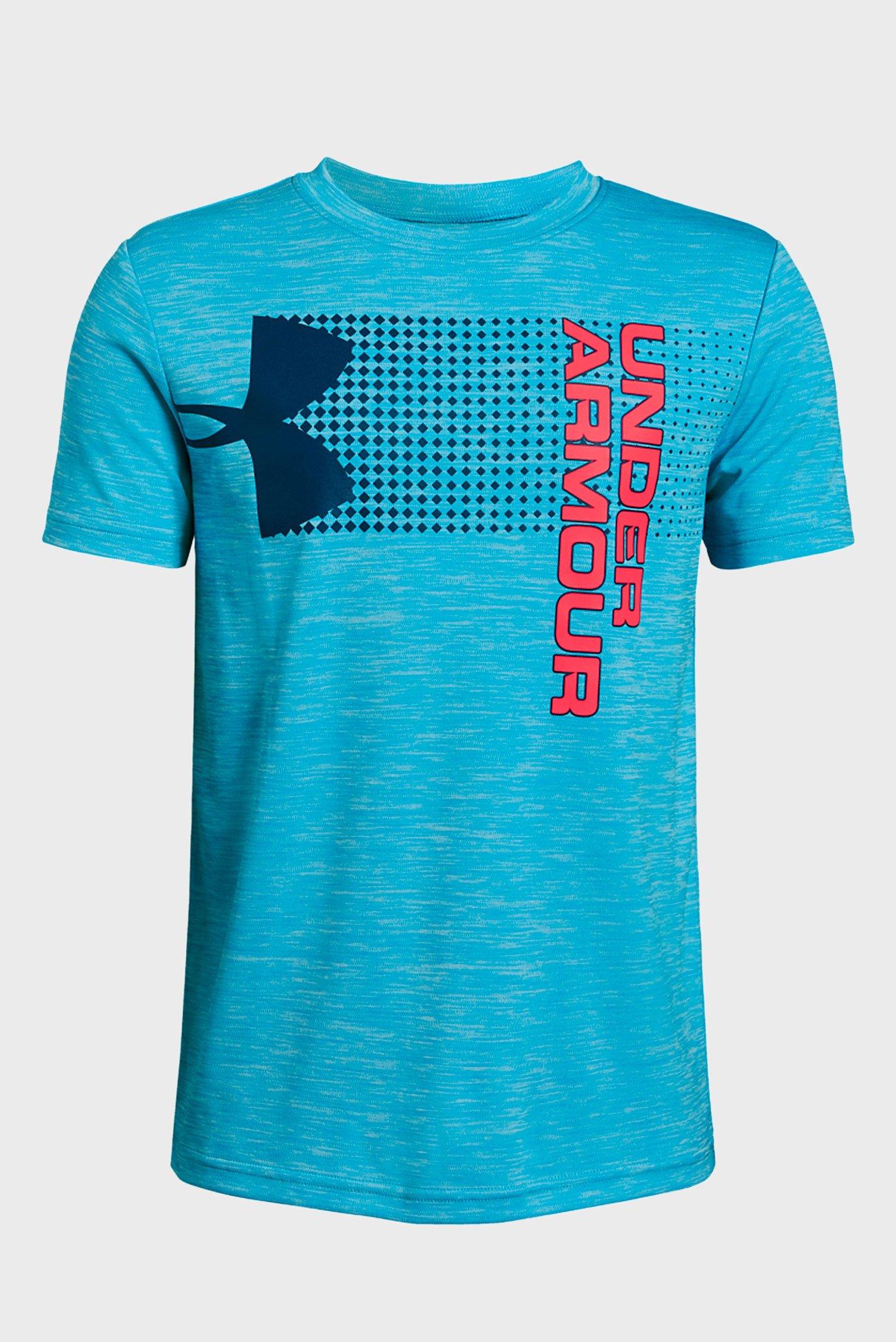 Купить Детская голубая футболка Crossfade Tee Under Armour Under Armour 1331684-452 – Киев, Украина. Цены в интернет магазине MD Fashion