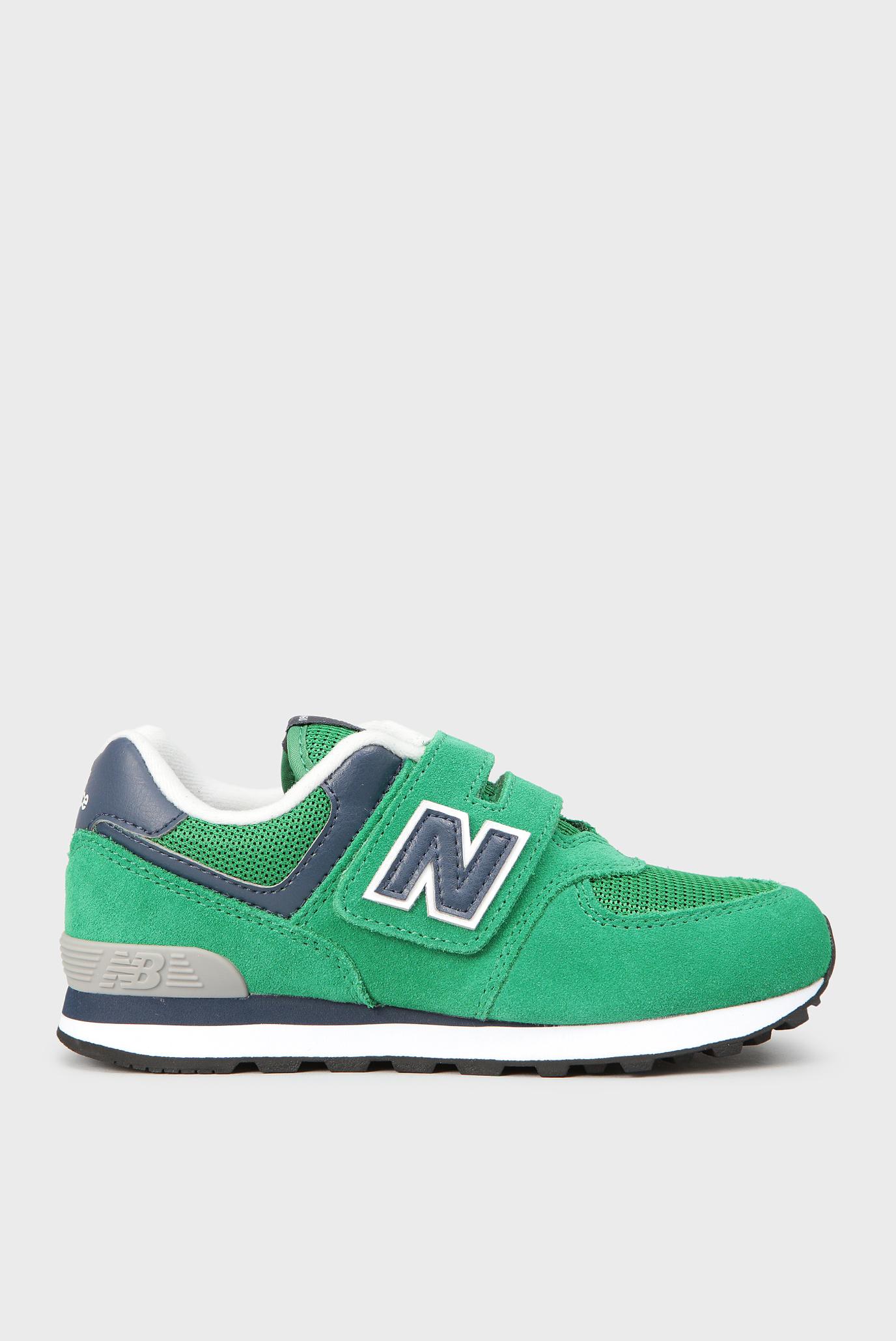 831fe9b4 Купить Детские зеленые кроссовки 574 New Balance New Balance YV574GN ...