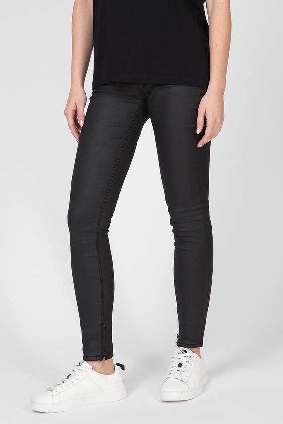 Женские черные джинсы SKINNY LUZ ANKLE ZIP