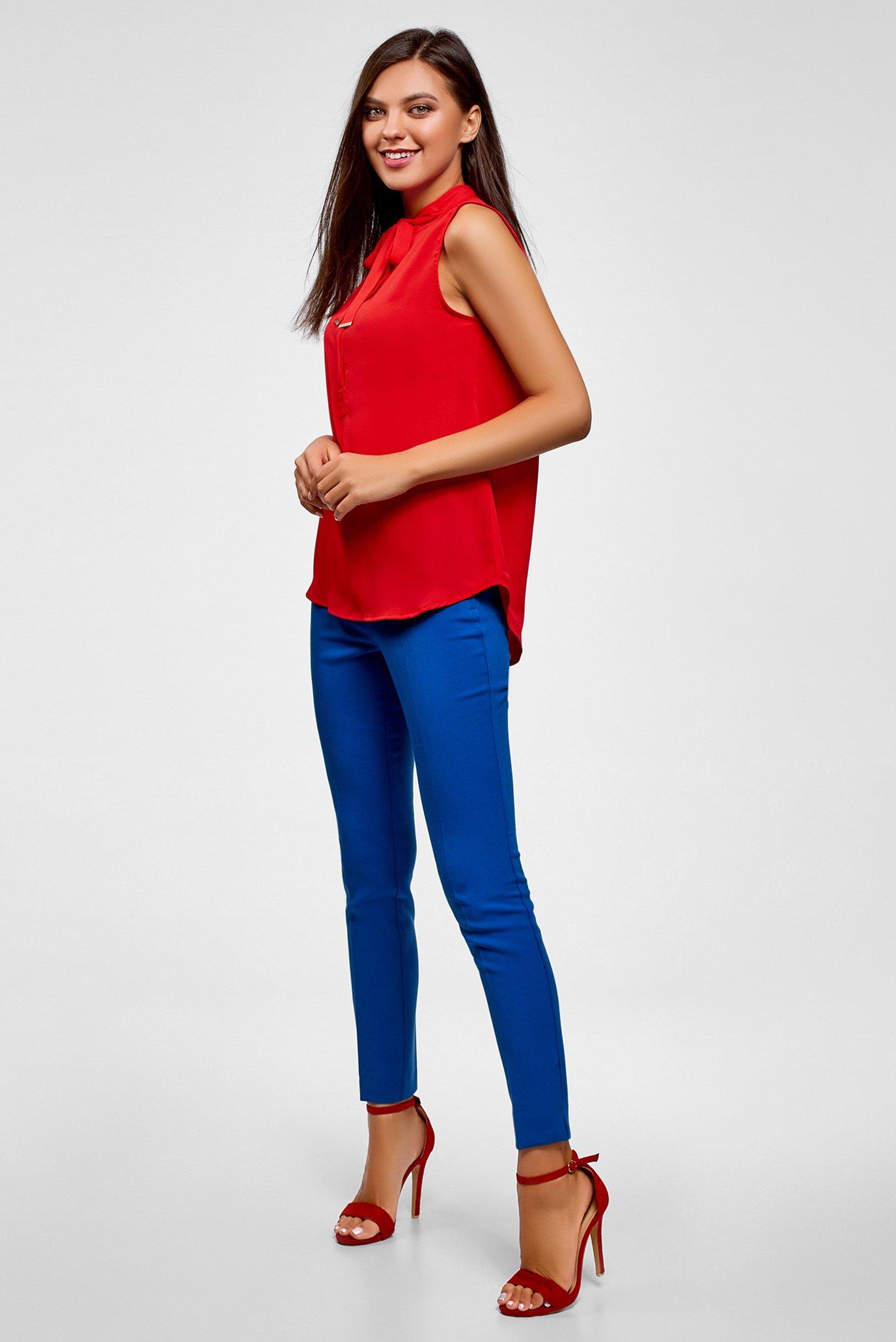 Купить Женская красная блуза Oodji Oodji 24911002/36215/4500N – Киев, Украина. Цены в интернет магазине MD Fashion