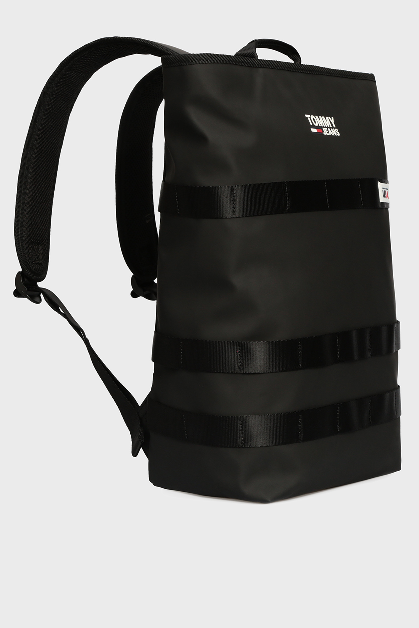 Мужской черный рюкзак TJM CASUAL Tommy Hilfiger