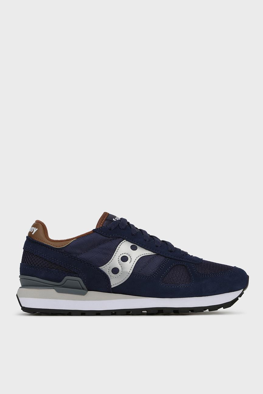 Мужские синие замшевые кроссовки SHADOW ORIGINAL