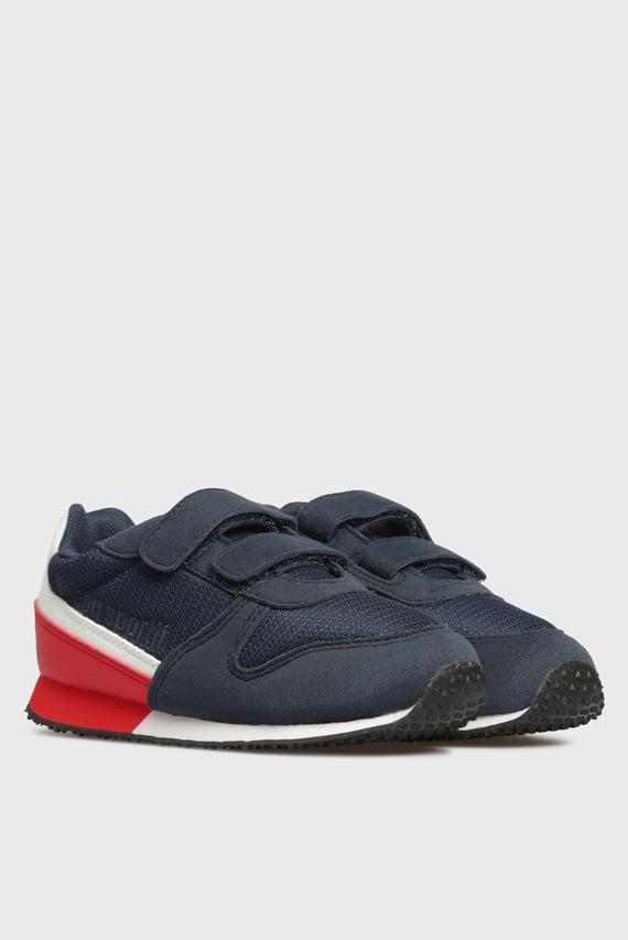 Детские темно-синие кроссовки