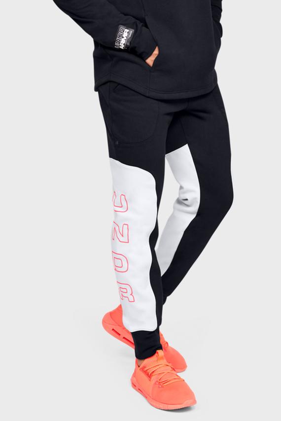 Мужские черные спортивные брюки UA MOMENTS FLEECE