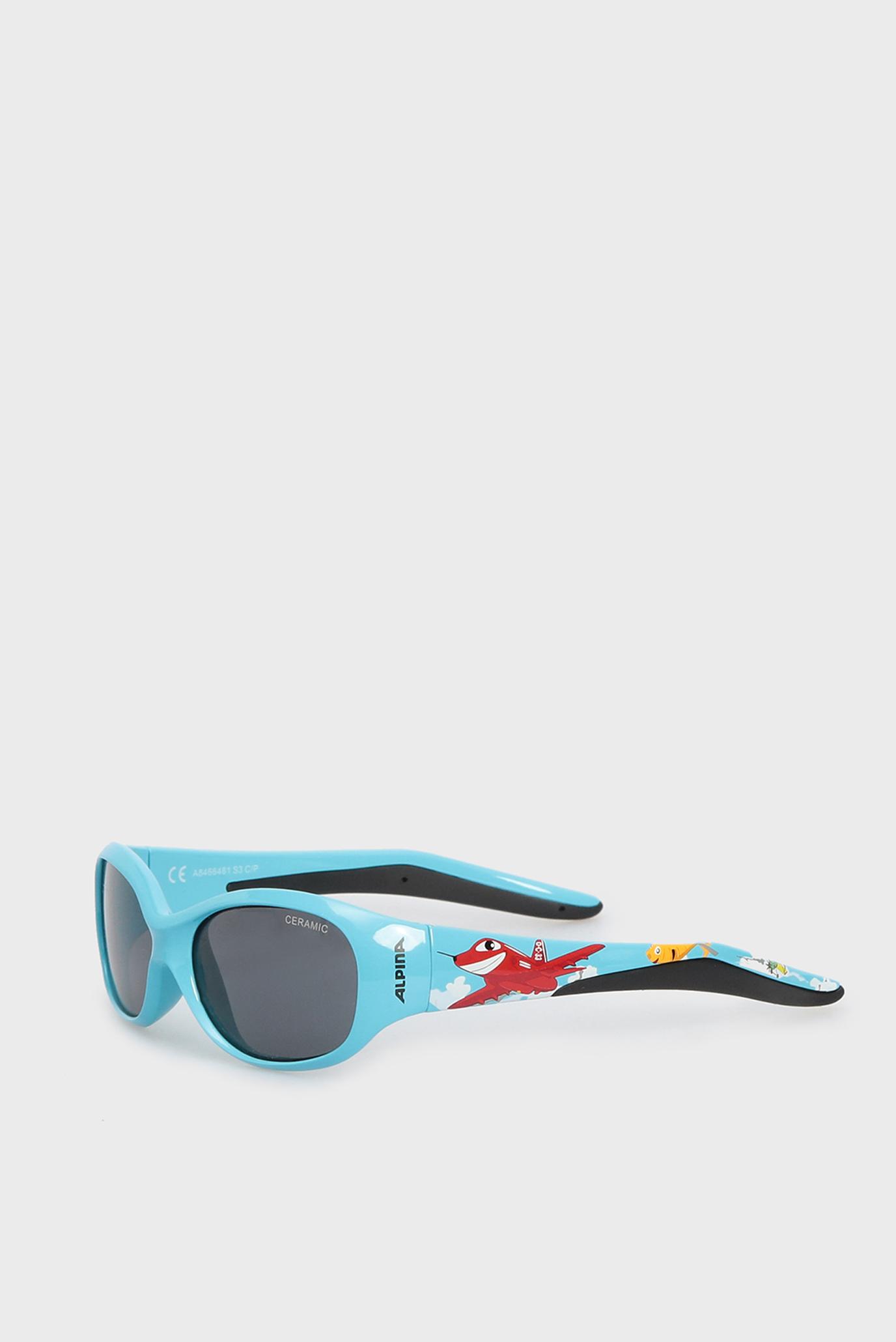 Дитячі блакитні сонцезахисні окуляри 1