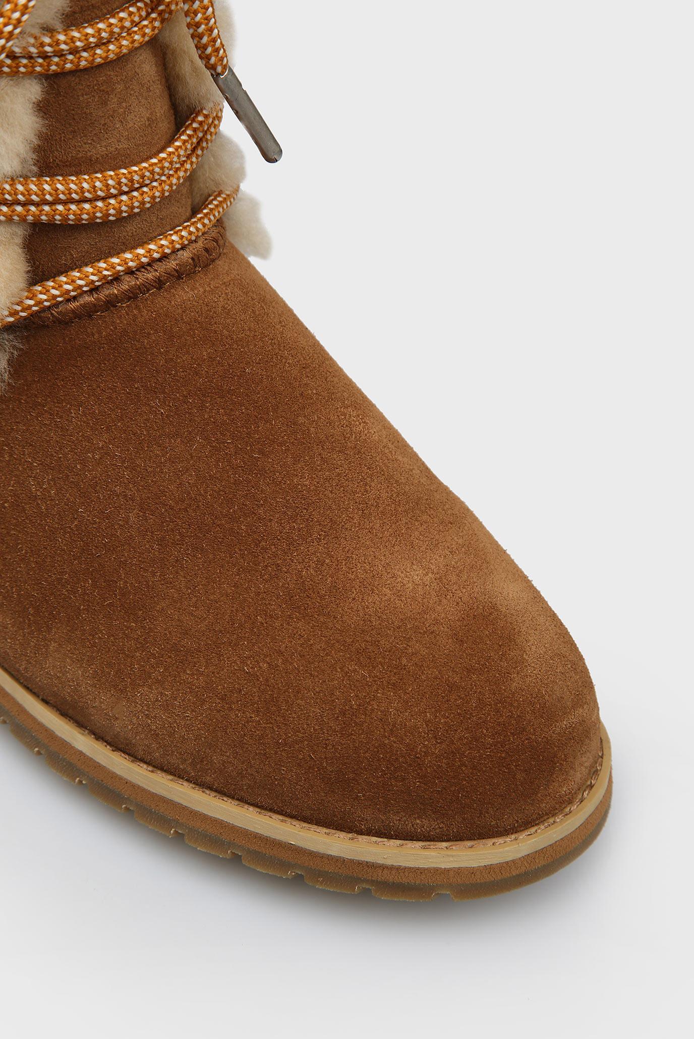 Купить Женские коричневые полусапоги Illawong EMU Australia  EMU Australia  W11657 – Киев, Украина. Цены в интернет магазине MD Fashion