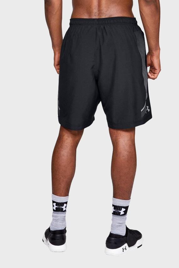 Мужские черные шорты Woven Graphic Short