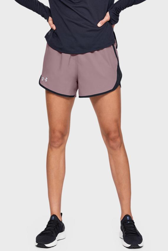 Женские розовые спортивные шорты UA Fly By 2.0 Short