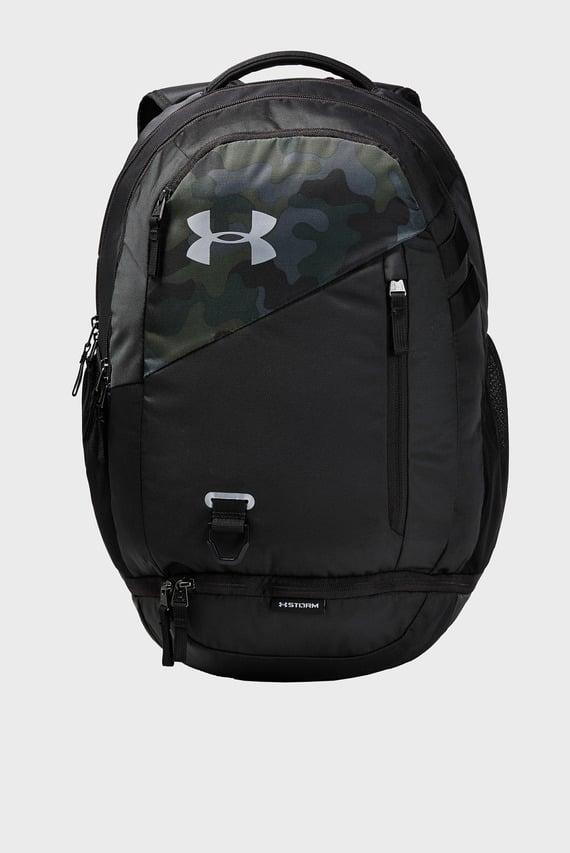 Черный рюкзак UA Hustle 4.0