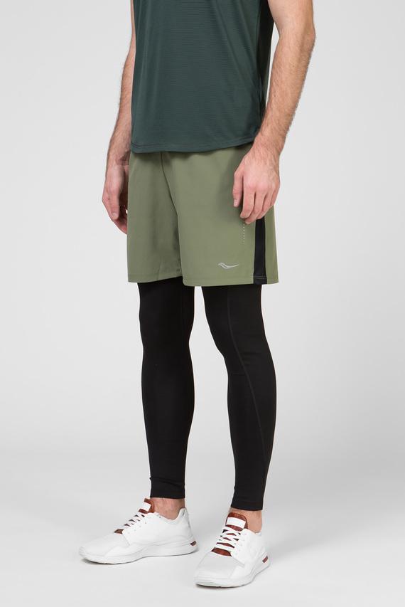 Мужские зеленые шорты SPRINT 7