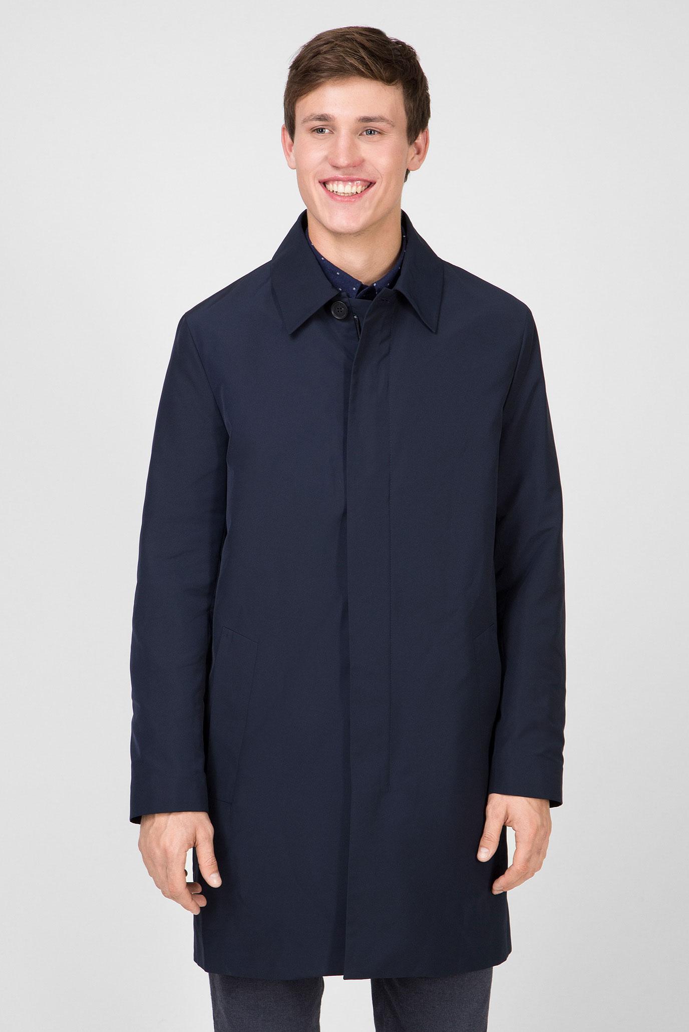 Мужской темно-синий плащ COMPACT NYLON ZIP Calvin Klein K10K103898 — MD-Fashion, баркод 8719851383850