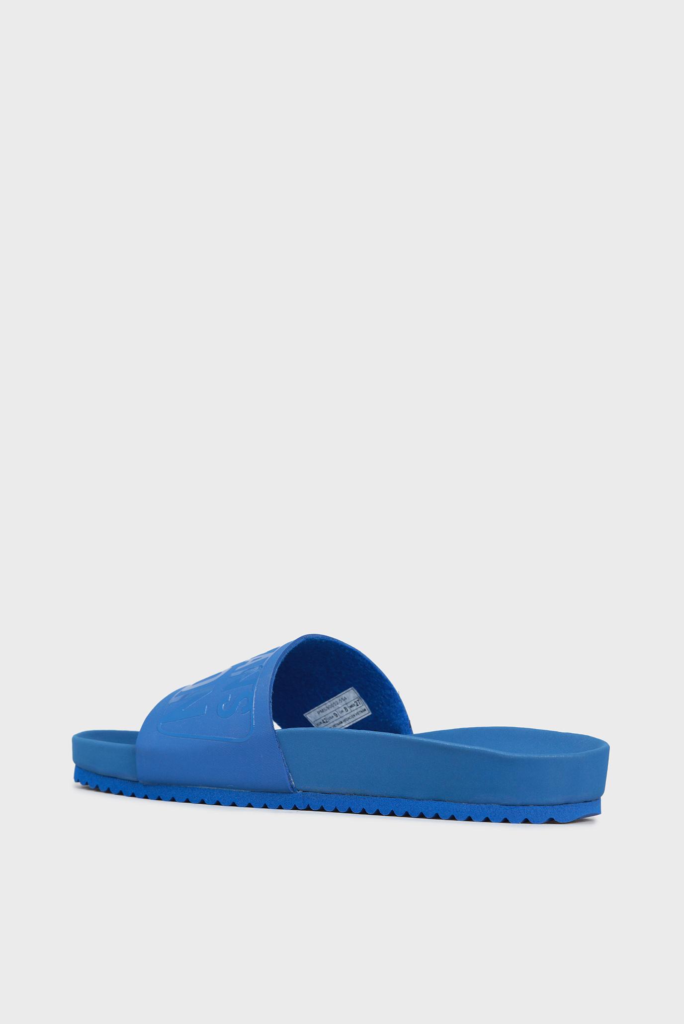 Купить Мужские голубые слайдеры Pepe Jeans Pepe Jeans PMS90052 – Киев, Украина. Цены в интернет магазине MD Fashion