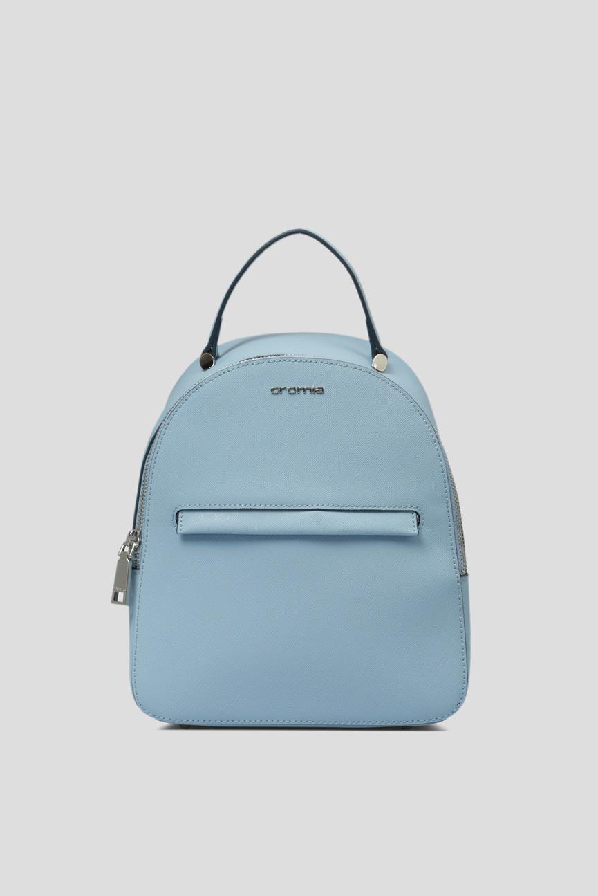 Женский голубой рюкзак