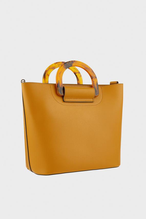 Женская оранжевая сумка на плечо LUCY HANDHELD