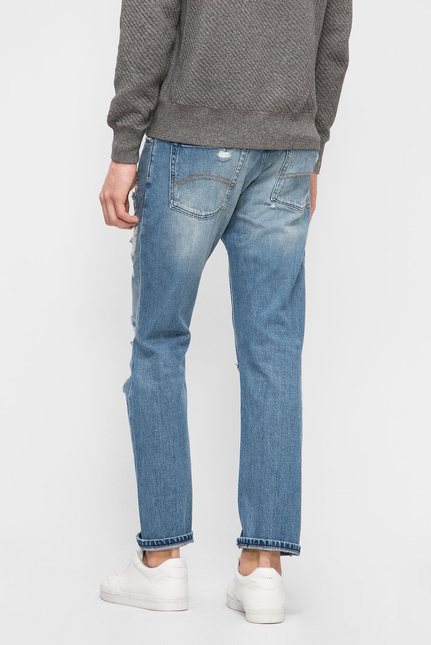 Купить Мужские синие джинсы STRAIGHT SLATER CLBLRIDE Tommy Hilfiger Tommy Hilfiger DM0DM03922 – Киев, Украина. Цены в интернет магазине MD Fashion