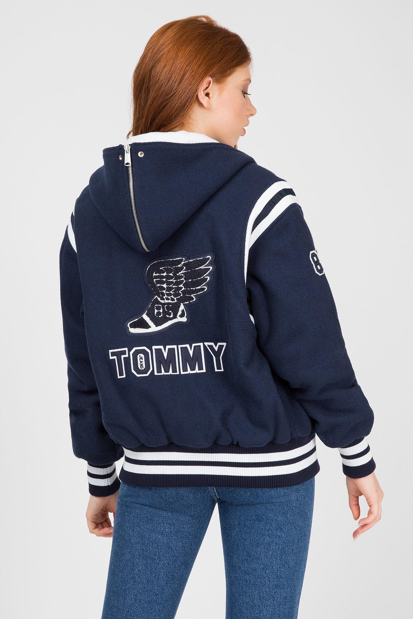 Купить Женский синий бомбер Tommy Hilfiger Tommy Hilfiger DW0DW05177 – Киев, Украина. Цены в интернет магазине MD Fashion