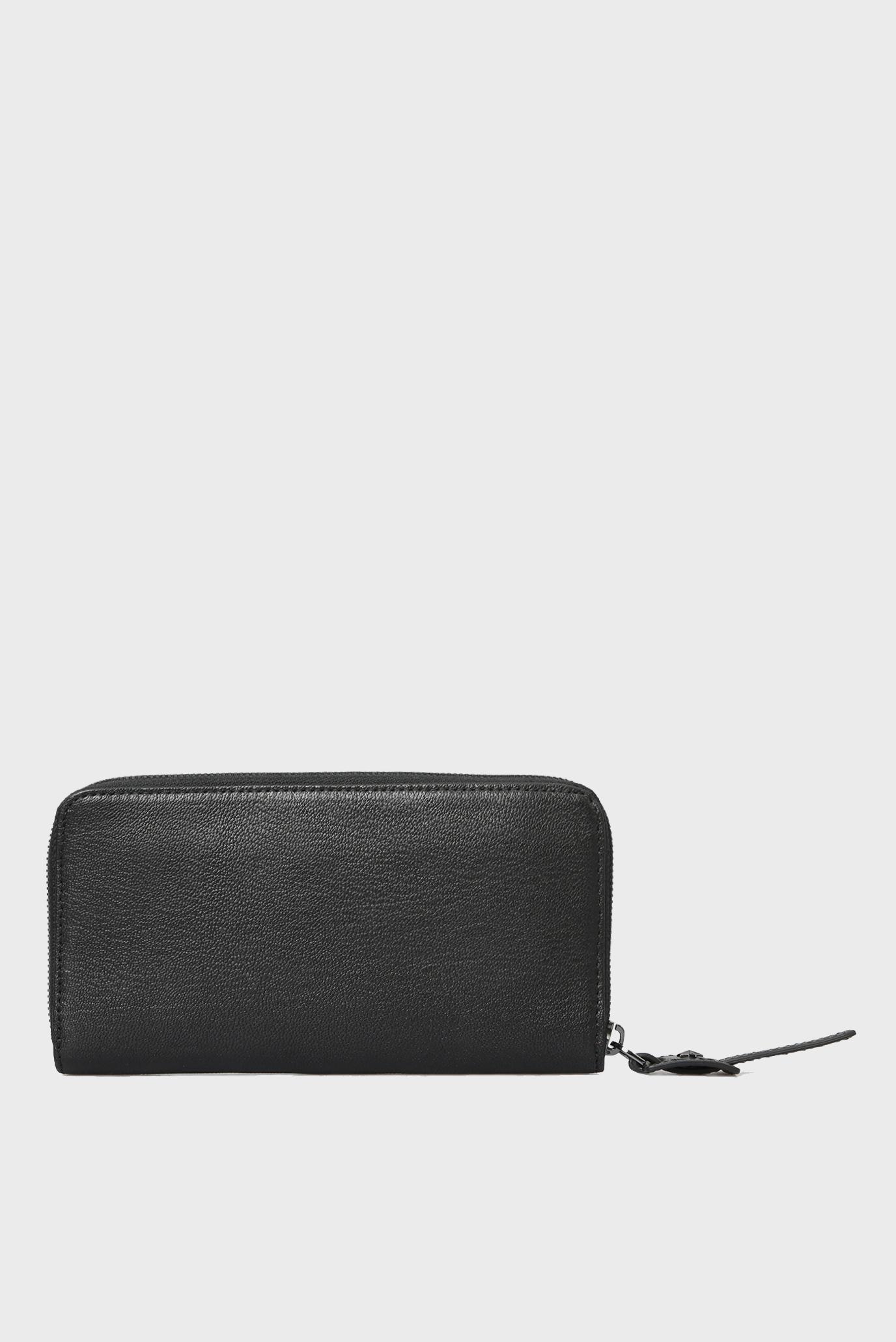 Купить Мужской черный кожаный кошелек ARIANO Diesel Diesel X05986 P0396 – Киев, Украина. Цены в интернет магазине MD Fashion