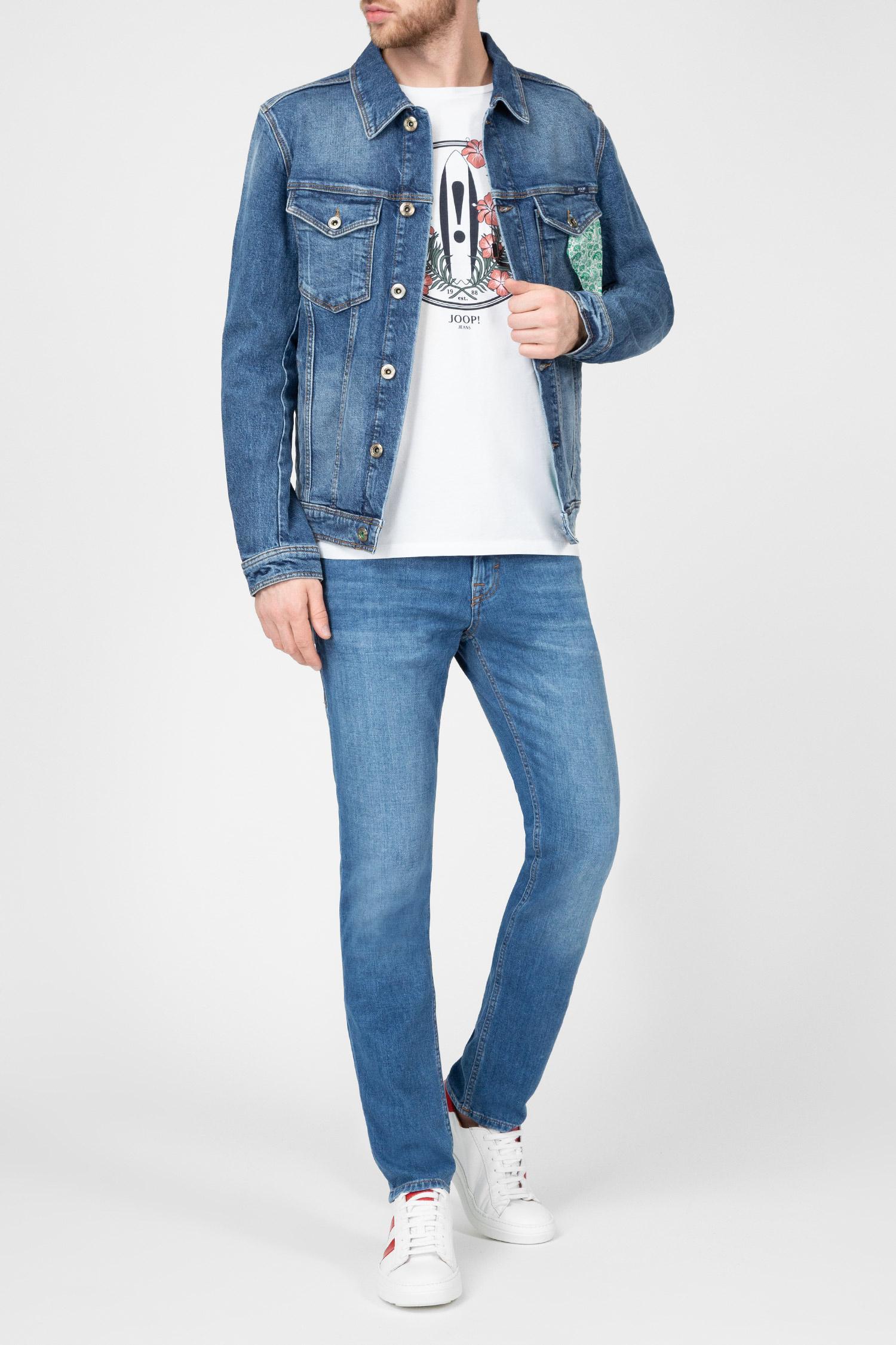 Мужские синие джинсы MITCH Joop