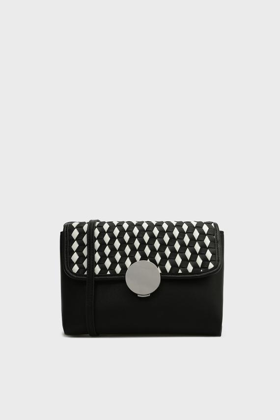 8022dcd1d695 Женская черная сумка через плечо TERESA Pepe Jeans 2 490 грн 1 245 грн