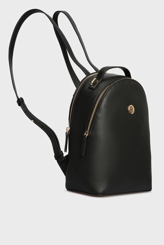 Женский черный рюкзак CHARMING